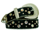 rhinestone crystal line-dance belt